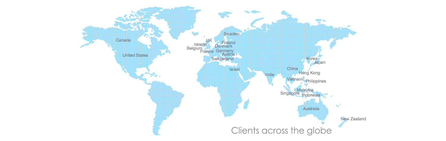 TMA clients map